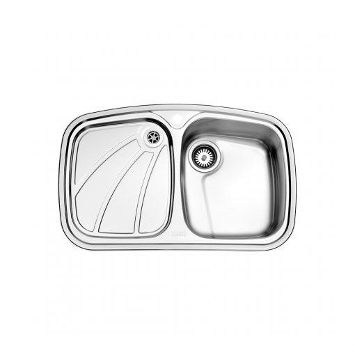 سینک توکار مدل ۶۱۸ استیل البرز