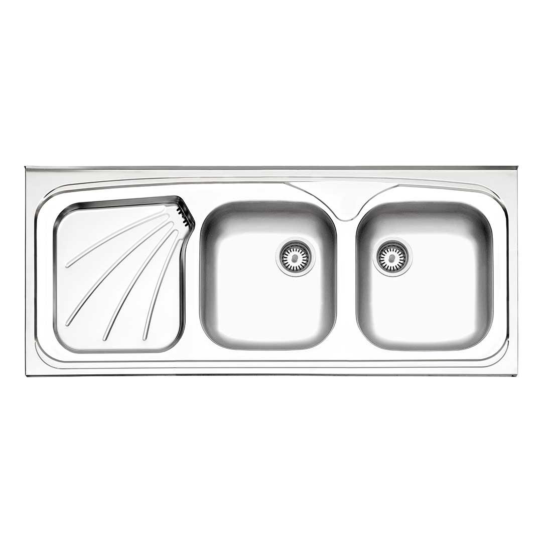 سینک روکار مدل ۲۷۰ | ۵۰ سانتی متری استیل البرز