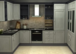 آشپزخانه به سبک استیل البرز