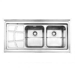 سینک روکار مدل ۷۶۲ استیل البرز