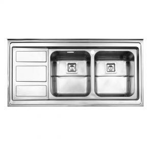 سینک روکار مدل ۷۶۵ استیل البرز
