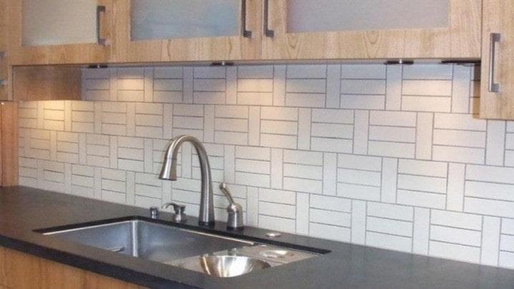 استفاده از کاغذ دیواری برای آشپزخانه
