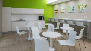 آشپزخانه اداری به سلامت روح و جسم کارمندان کمک میکند